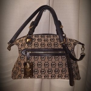 Mk Calista Large Satchel